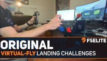 Landings With Virtual Fly The FSElite Original