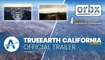 Official Trailer Orbx TrueEarth Southern California AviationLads.com