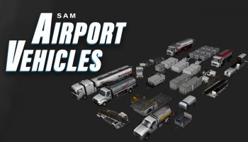 SAM AirportVehicles X Plane 11 Add On Official Trailer Aerosoft