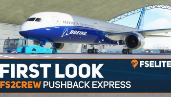 FS2Crew Pushback Express The FSElite First Look