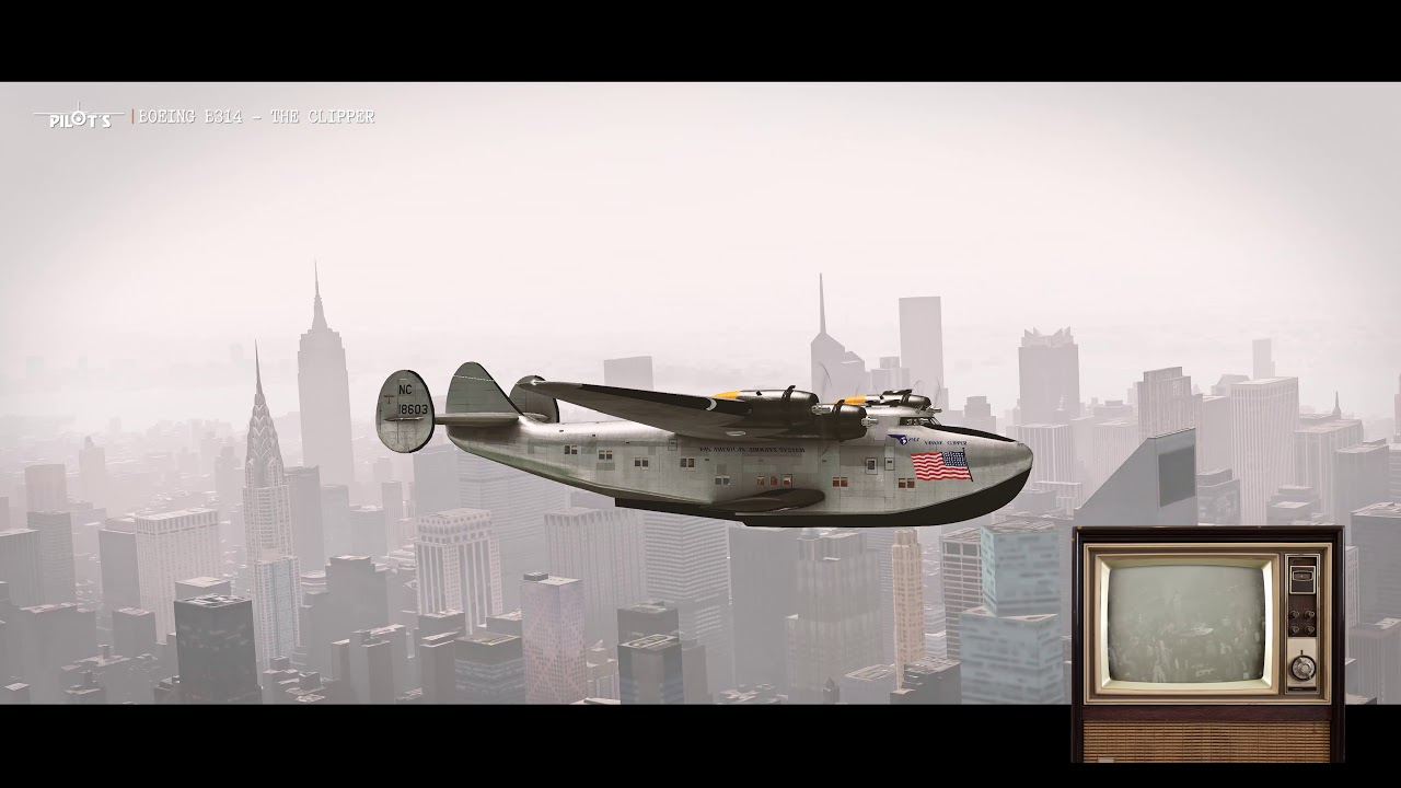 PILOT'S Releases Boeing B314 Clipper for P3D