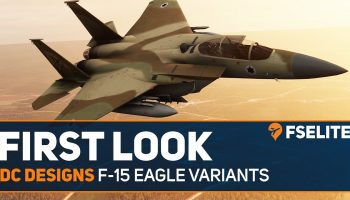 DC Designs F 15 Eagle Variants For MSFS The FSElite First Look