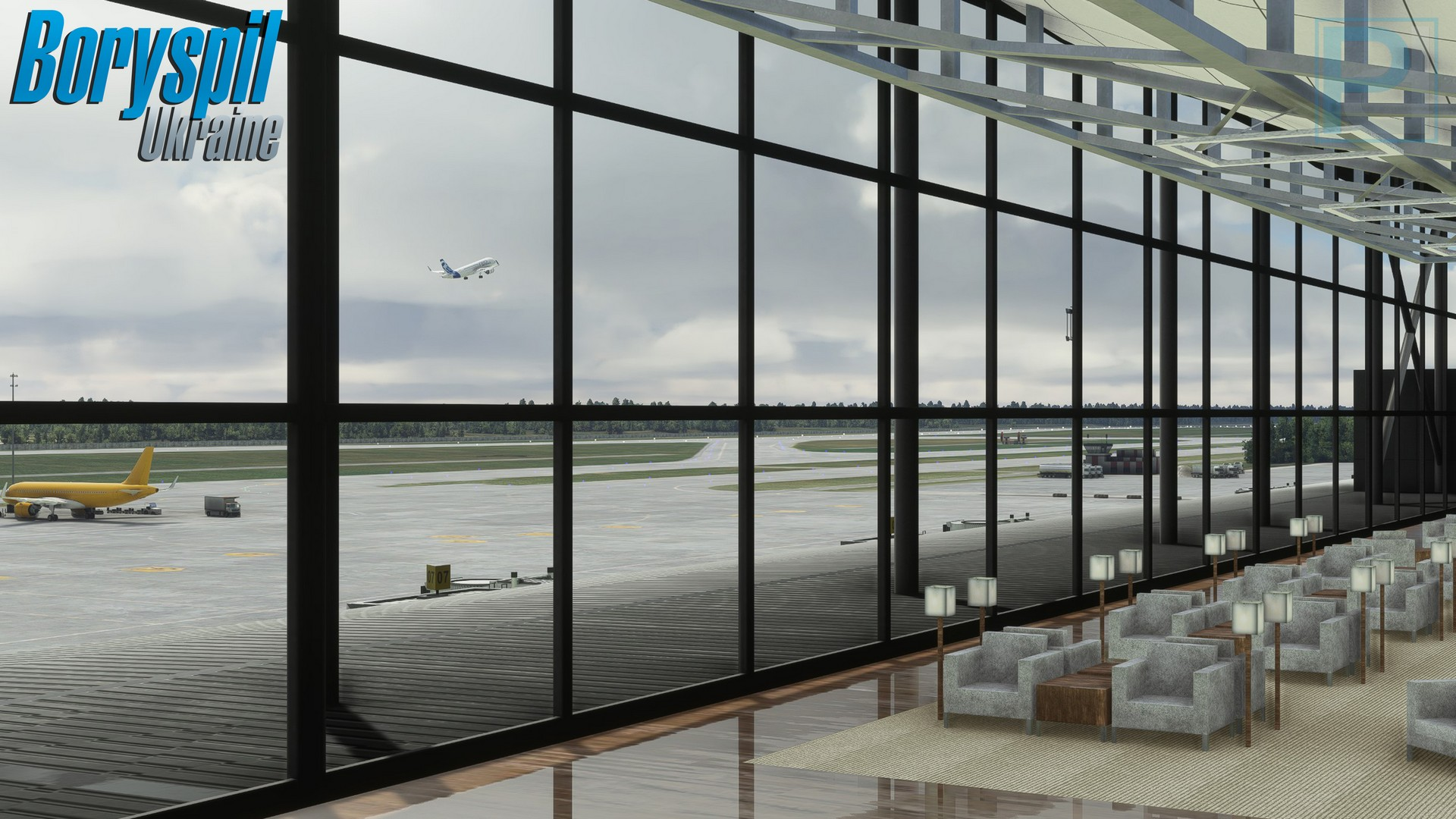 Pyreegue Dev. Co. Releases Kyiv Boryspil International Airport for MSFS