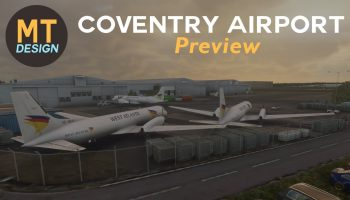 FS2020 Coventry Airport Overview