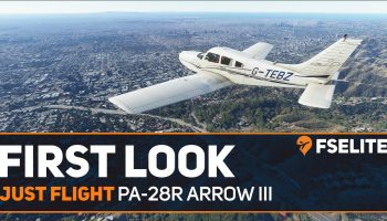 Just Flight PA 28R Piper Arrow III The FSElite First Look