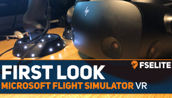 MSFS VR First Look