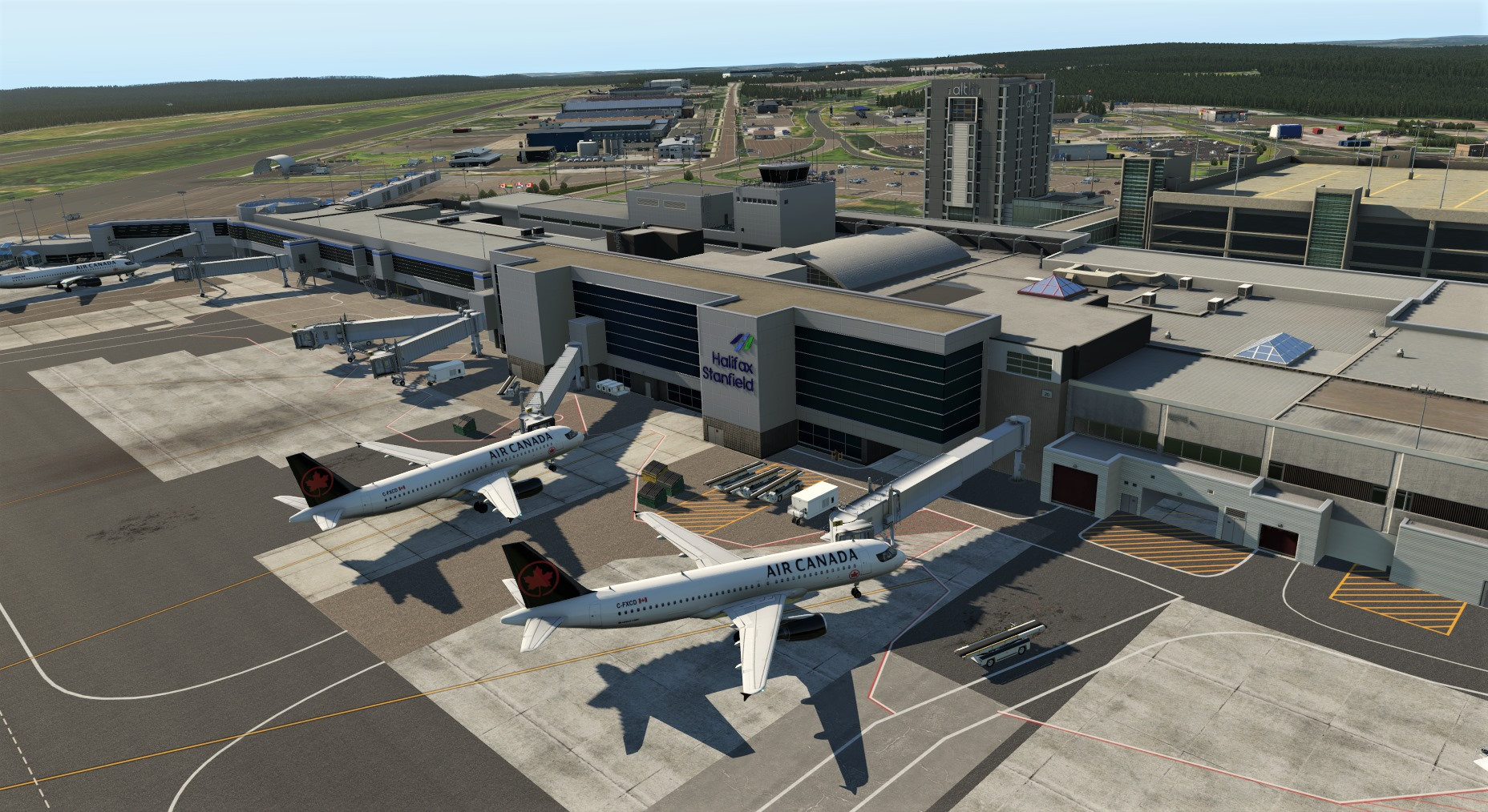 Airfield Canada Releases Halifax Stanfield International Airport for XP