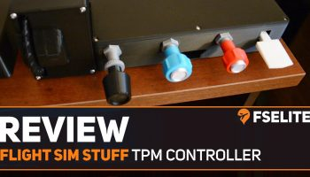 Flight Sim Stuff Throttle Prop Mixture TF Controller The FSElite Review