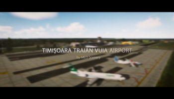 LRTR Timișoara Traian Vuia Airport Prepar3D MLD Scenery