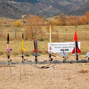 CRASH Rocketry Launch October, 2012