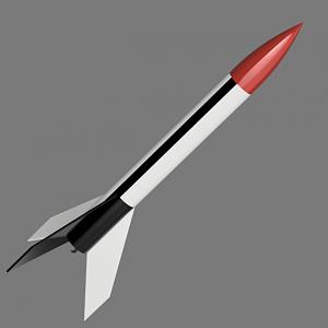 Estes Starblazer X-20 Render | The Rocketry Forum