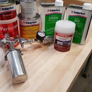 2-part epoxy paint system