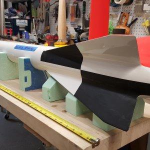 CNC'd foam blocks for transport