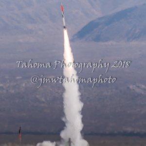 Pad kicked, put rocket on 7-mile trajectory landing