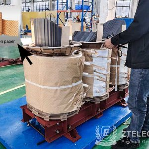 Delivery of ddp diamond dotted insulation paper for Vietnam.jpg
