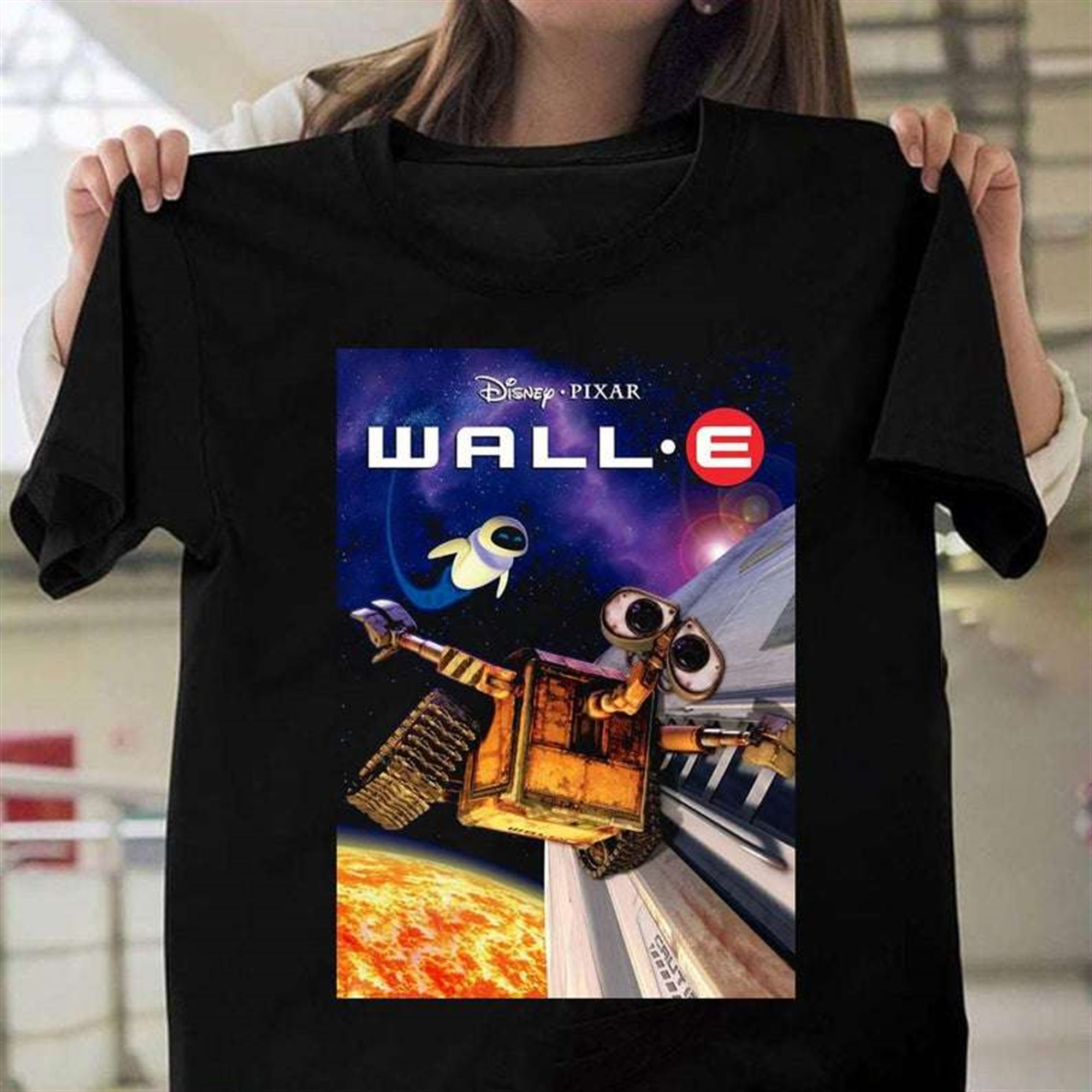 Wall E Disney Movie T Shirt Size Up To 5xl