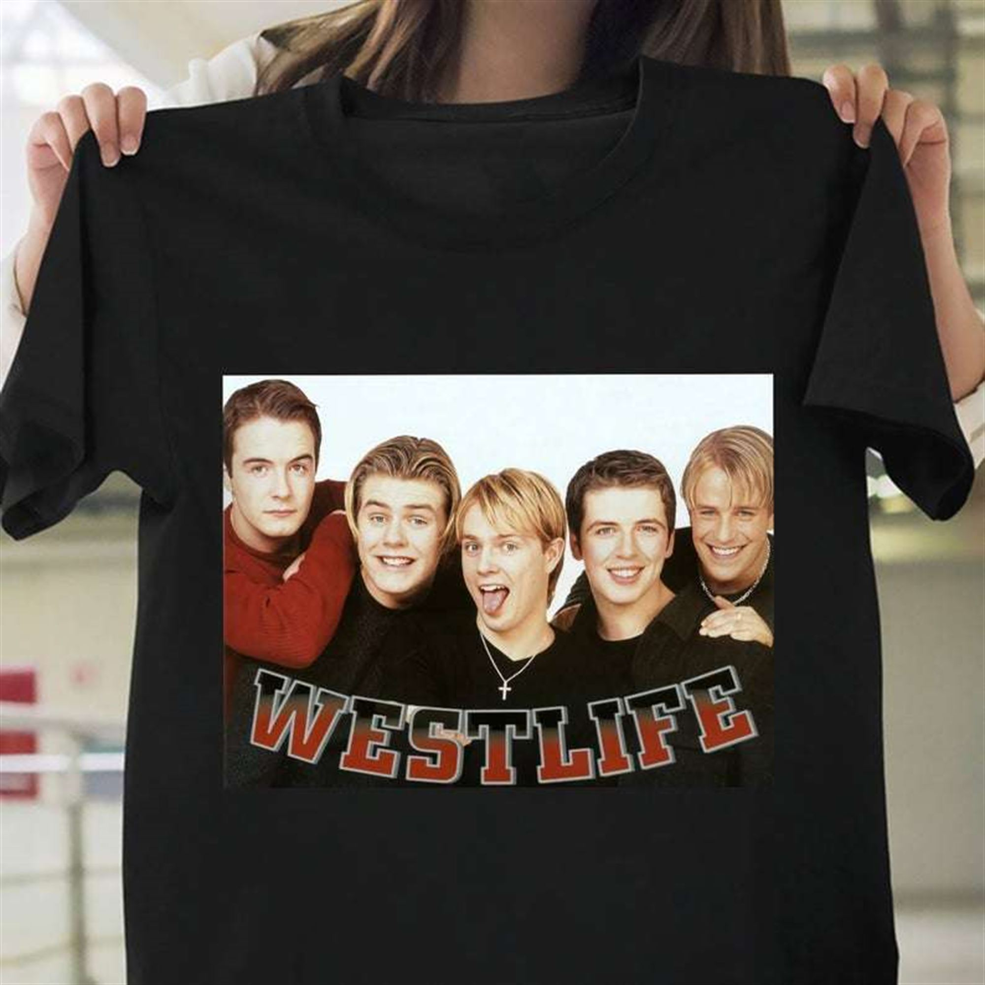 Westlife T-shirt Plus Size Up To 5x
