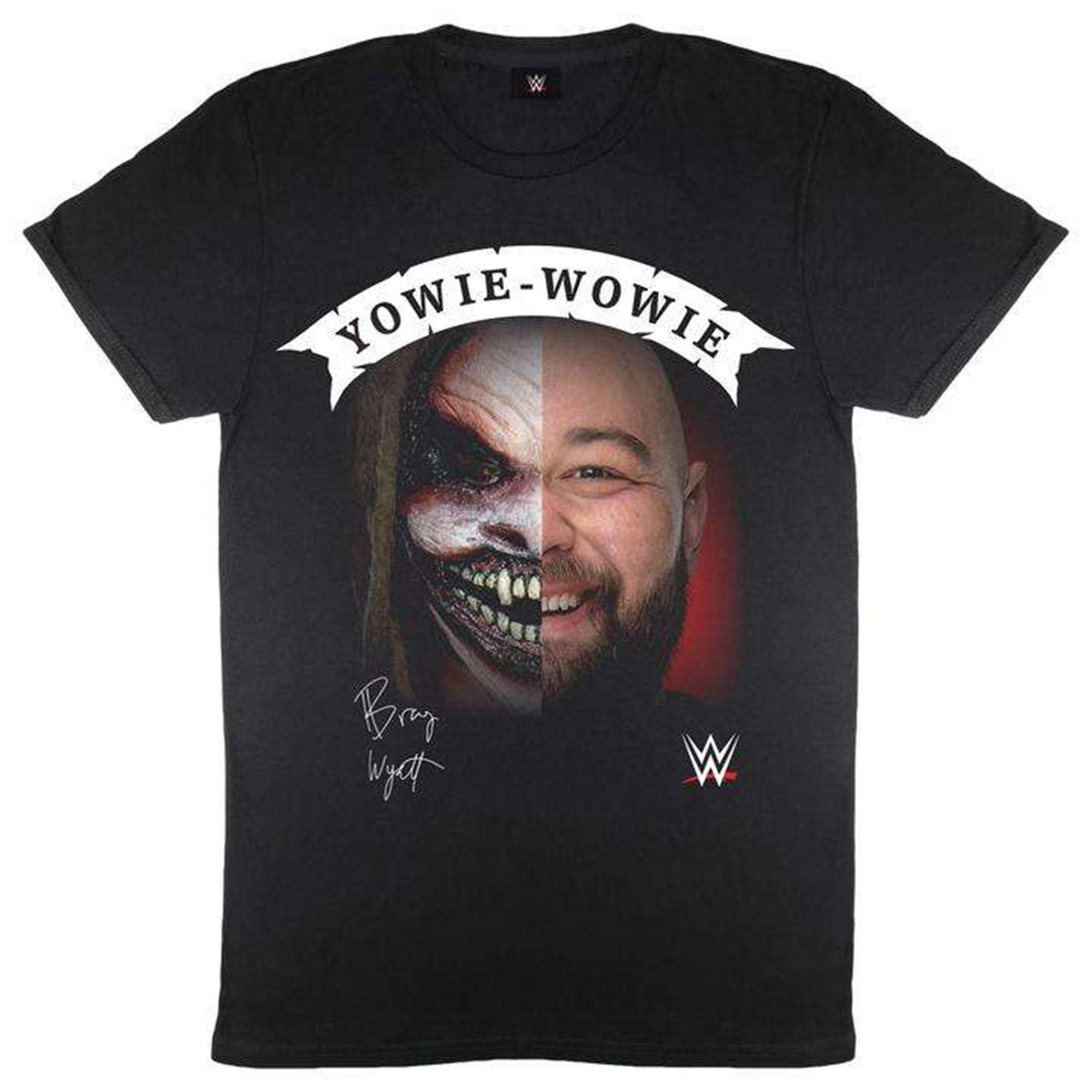 Wwe Bray Wyatt The Fiend Yowie Wowie Men T-shirt Plus Size Up To 5x