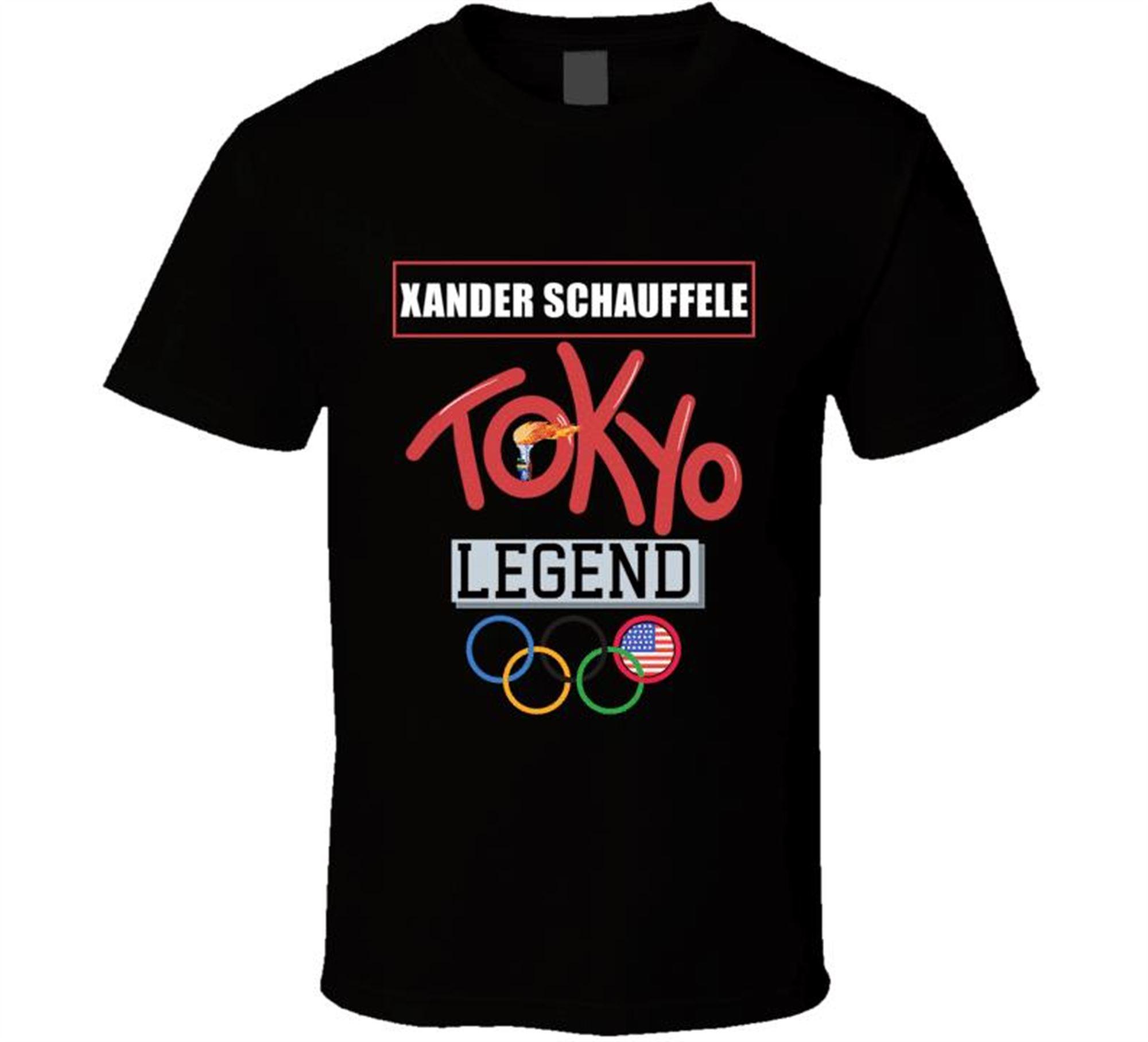 Xander Schauffele Tokyo Legend Team Usa Golf Athlete Olympics T Shirt Plus Size Up To 5x