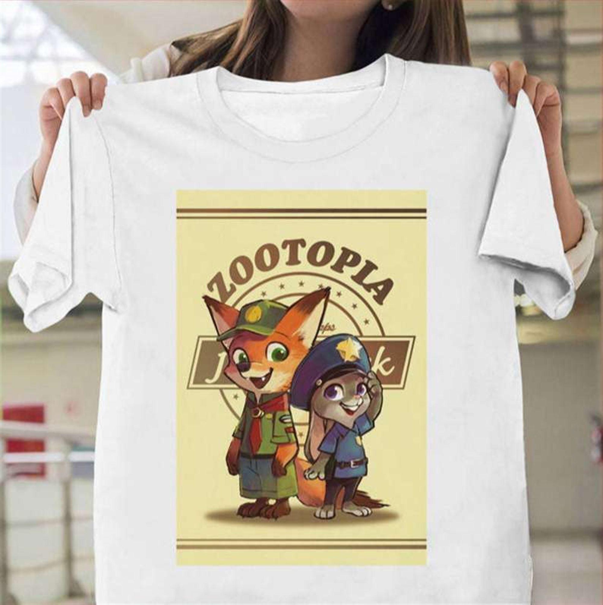 Zootopia Classic Unisex T Shirt Plus Size Up To 5x