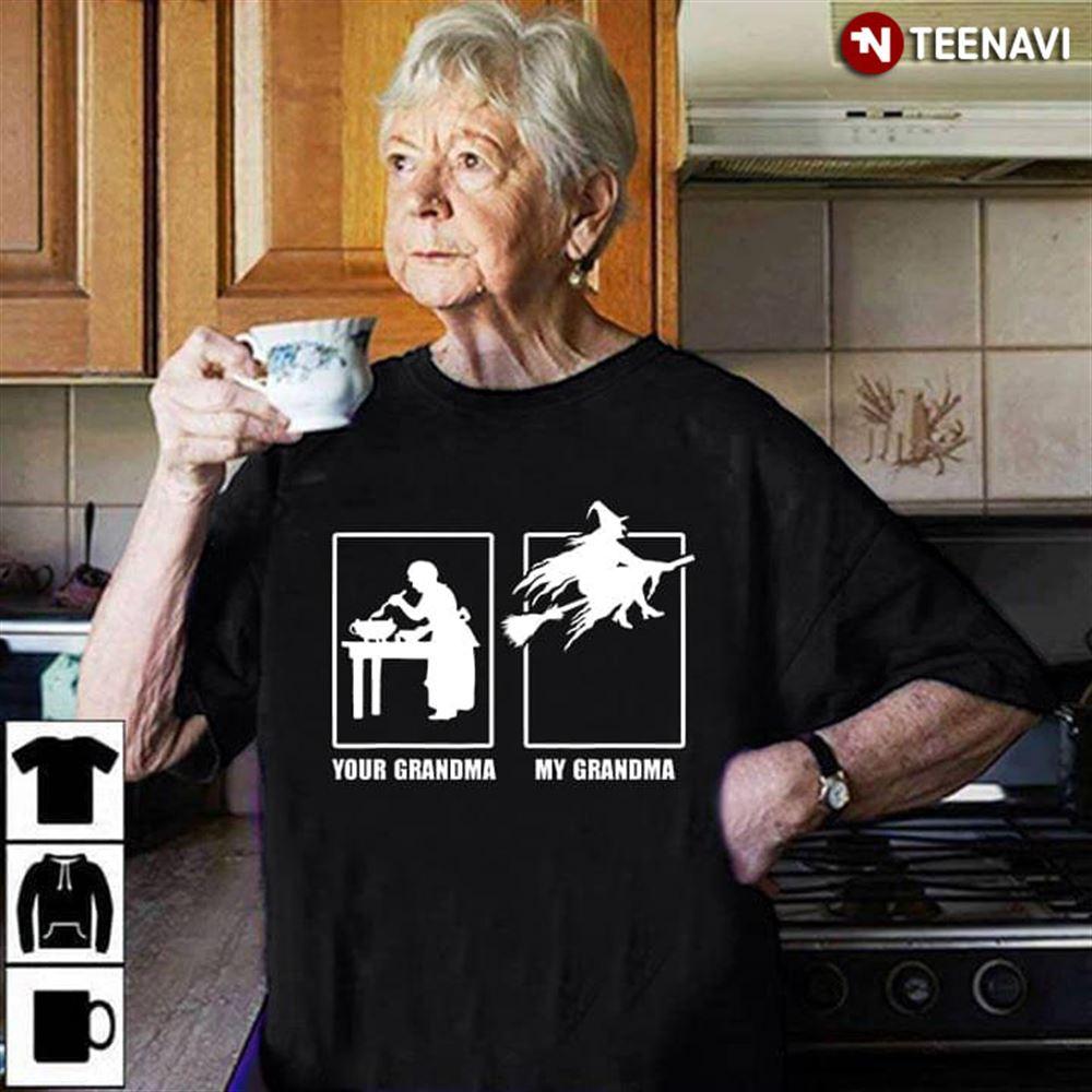 Your Grandma My Grandma Halloween Witch