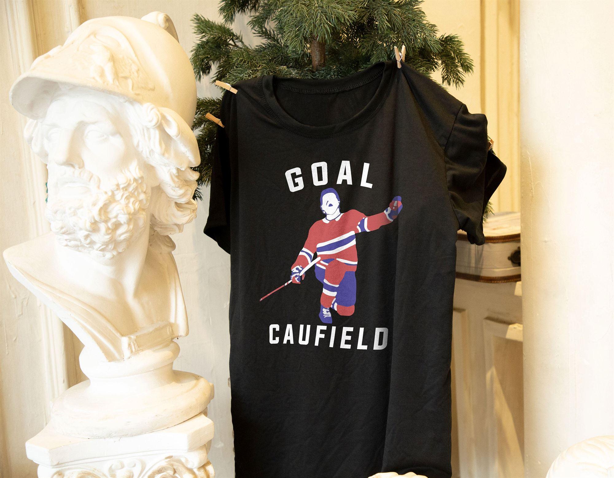Goal Caufield T-shirt Funny Hockey Goal Caufield Shirt Cole Caufield Shirt