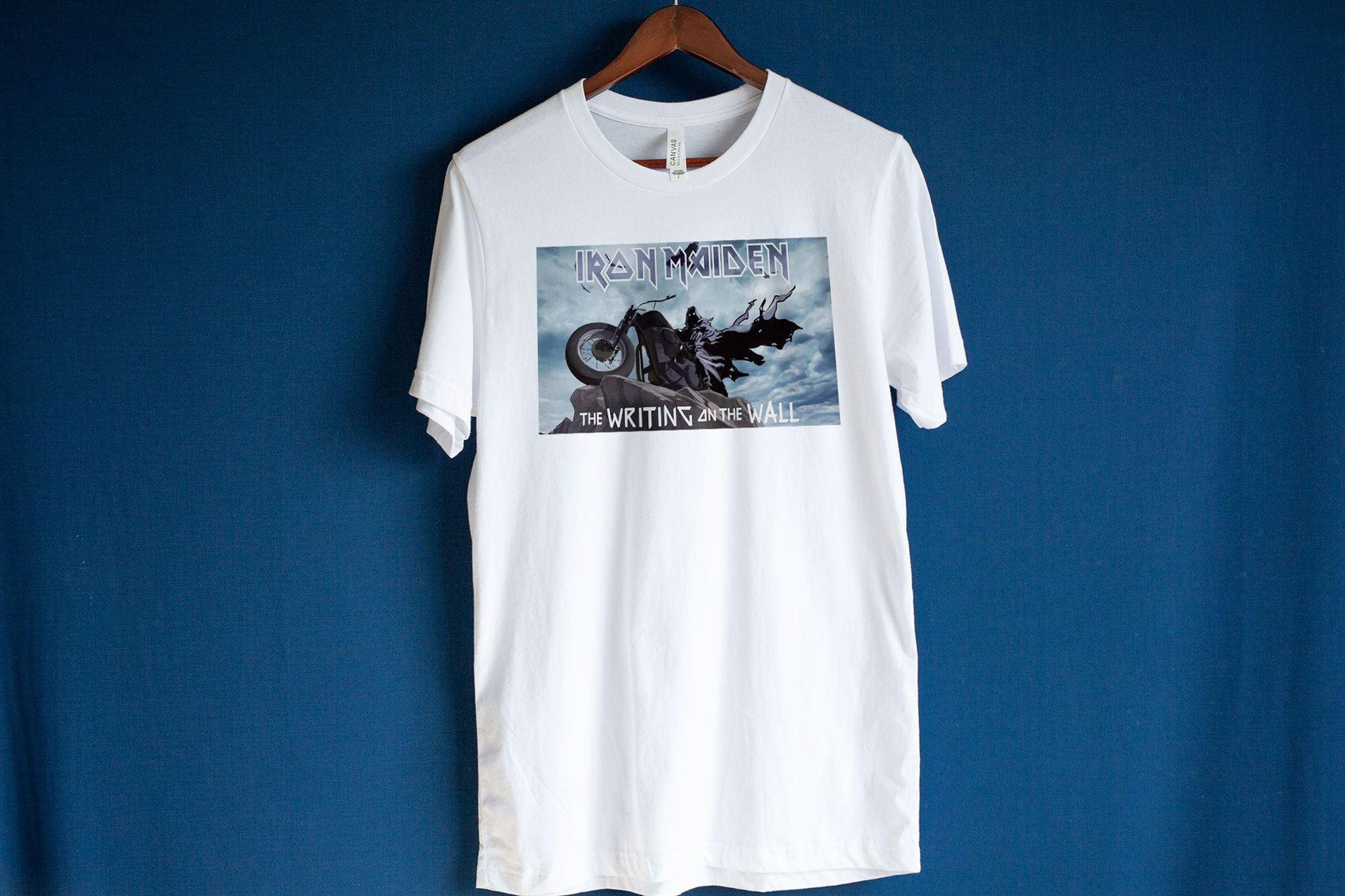 Iron Maiden T-shirt The Writing On The Wall Shirt Senjutsu Album Shirt