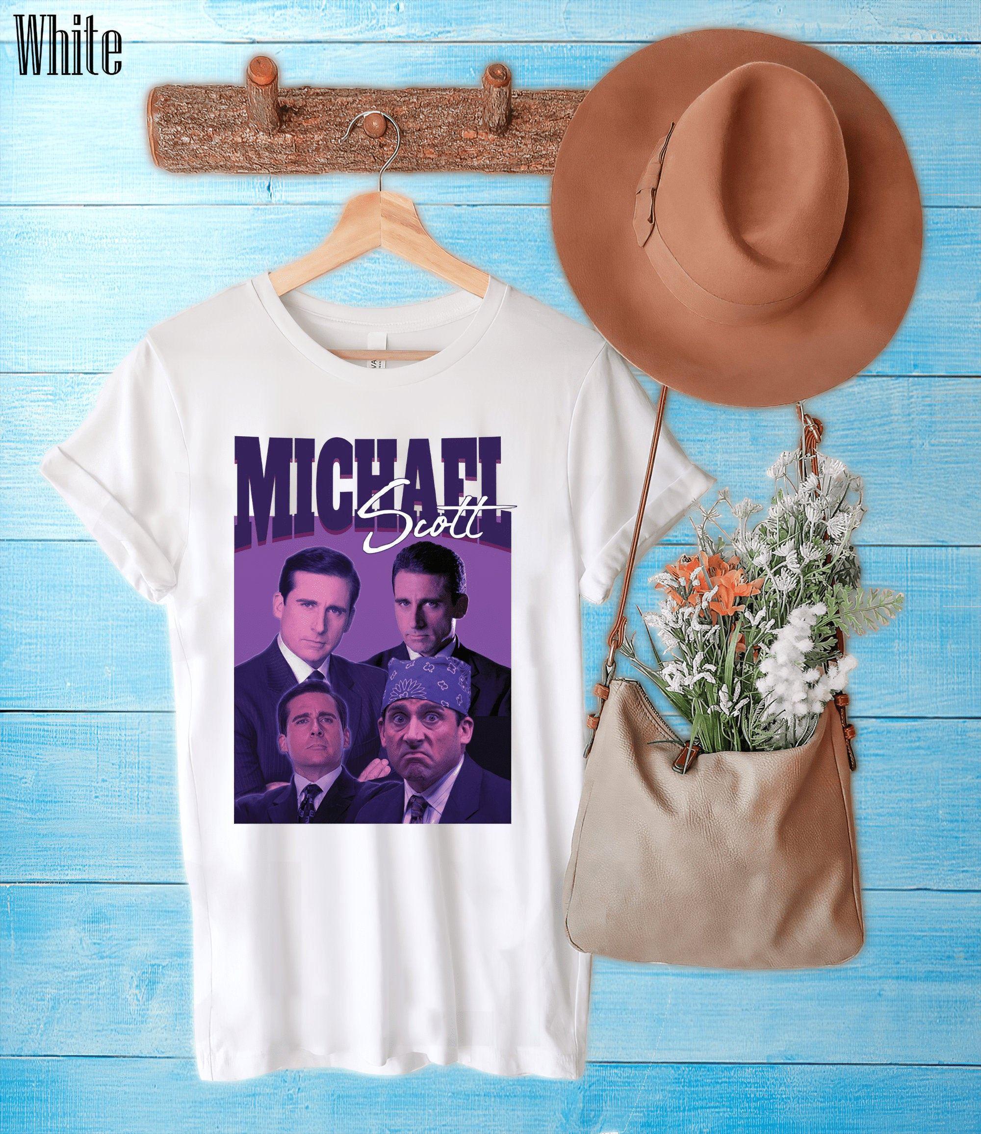 Michael Scott Homage 90s Retro Vintage T Shirt Us Office Tv Show Unisex Shirt Tv Show Vintage T Shirt Sweatshirt Hoodie