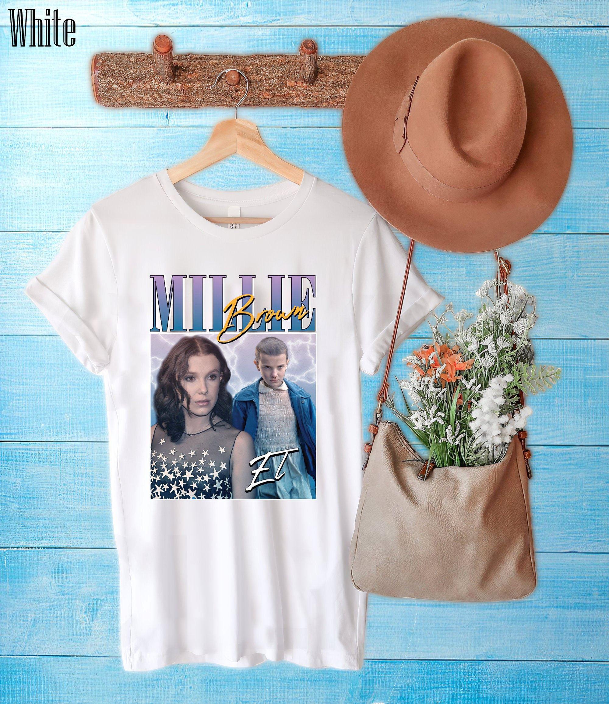 Millie Bobby Brown Rap Hip Hop Retro Vintage Shirt Stranger Things Tv Series Sweatshirt Hoodie Vintage Retro 90s Shirt