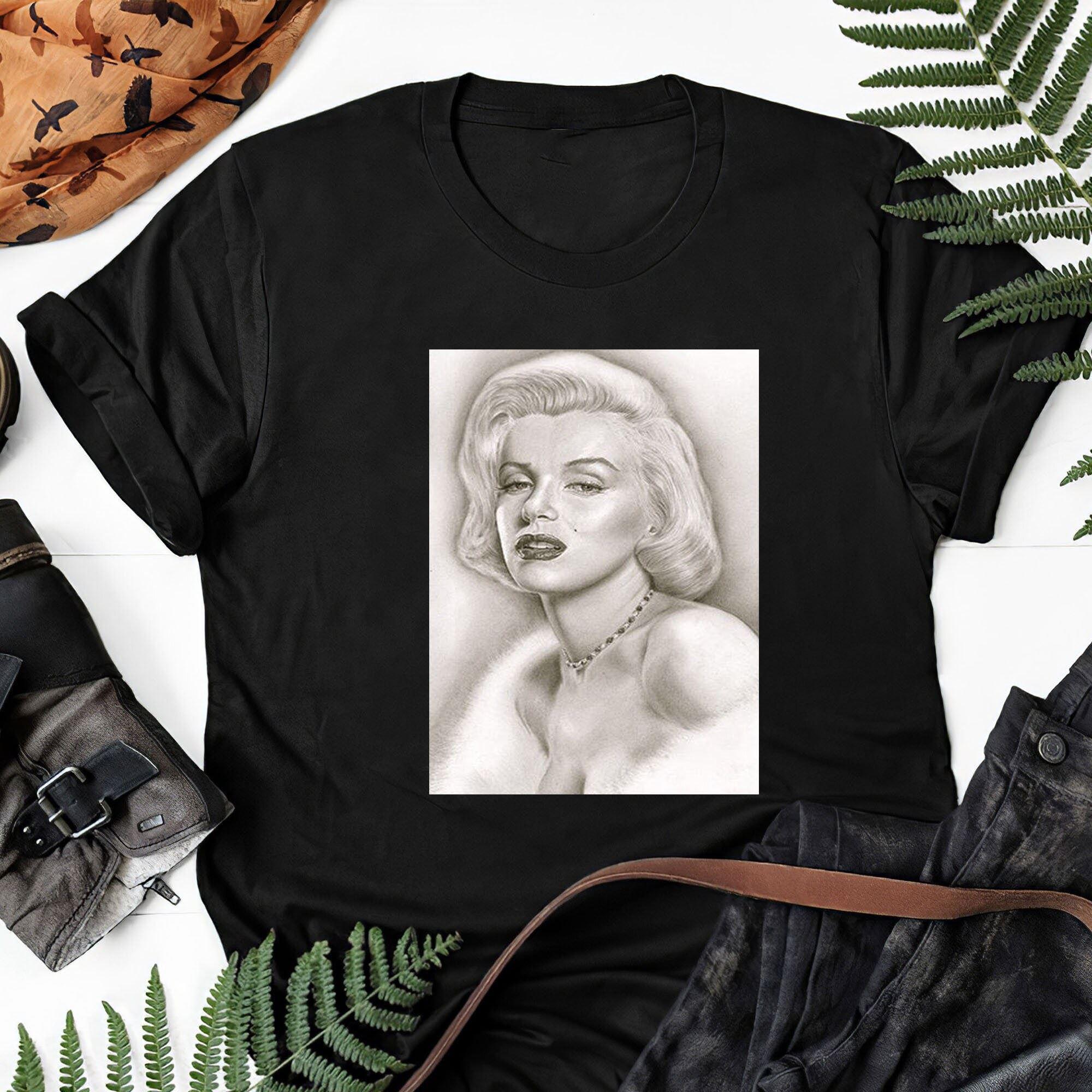 Monroe Norma Jeane Mortenson Marilyn Gift Tee For Men Women Unisex T-shirt