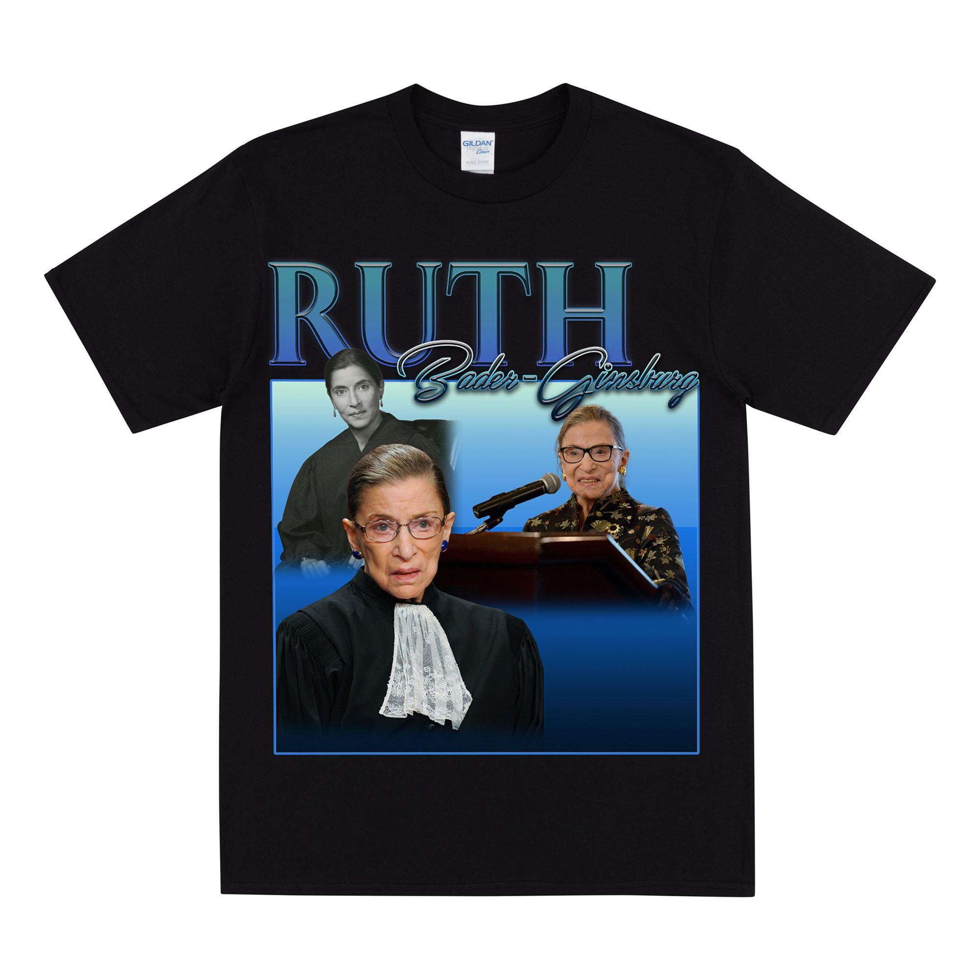 Ruth Bader - Ginsburg Tribute T-shirt Women Men Unisex T Shirt Feminism Tee For Females
