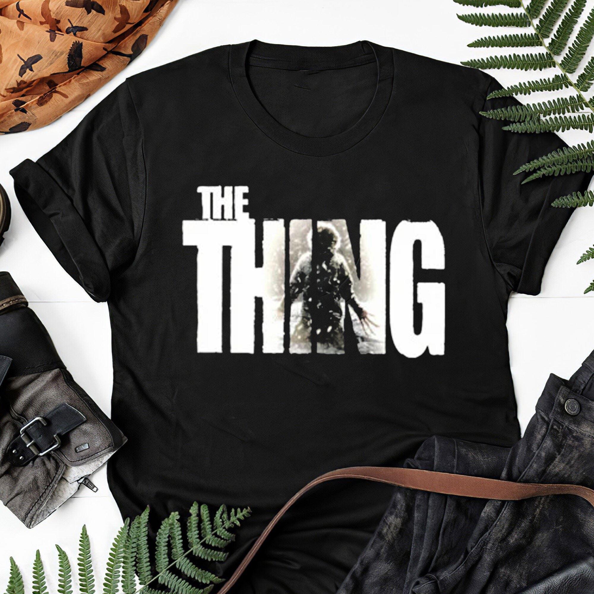 The Thing Classic Horror Movie 80s John Carpenter Kurt Russell V1 T Shirt Gift Tee For Men Women Unisex T-shirt