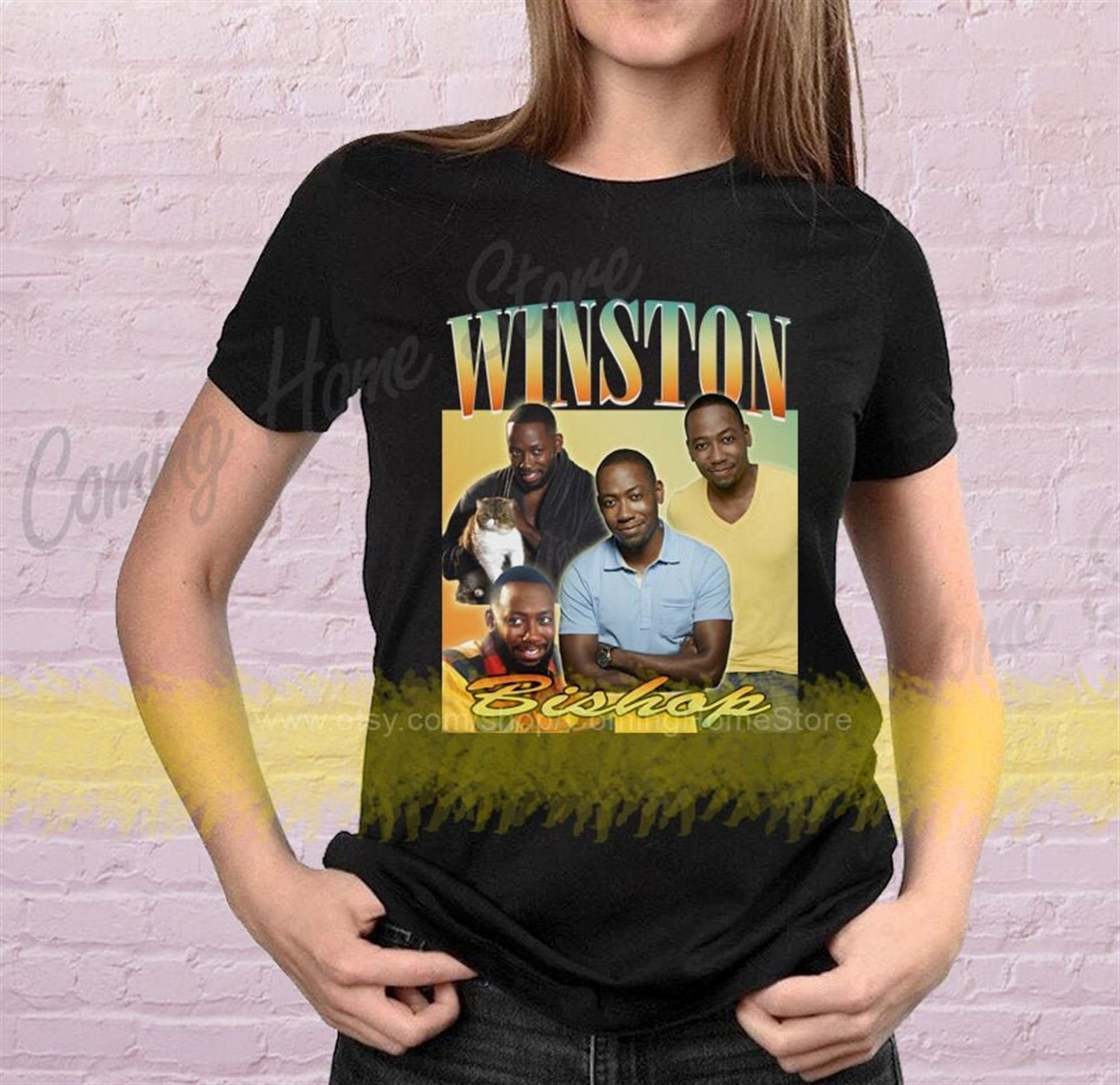 Winston Bishop Shirt Winston New Girl Shirt Vintage Homage Retro T-shirt Unisex And Women Size Tee More Colors