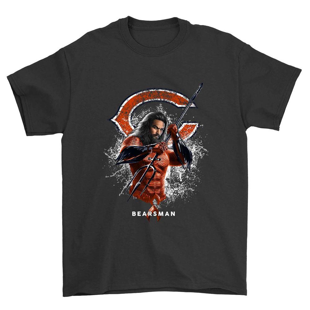 Aquaman Bearsman Chicago Bears Shirt