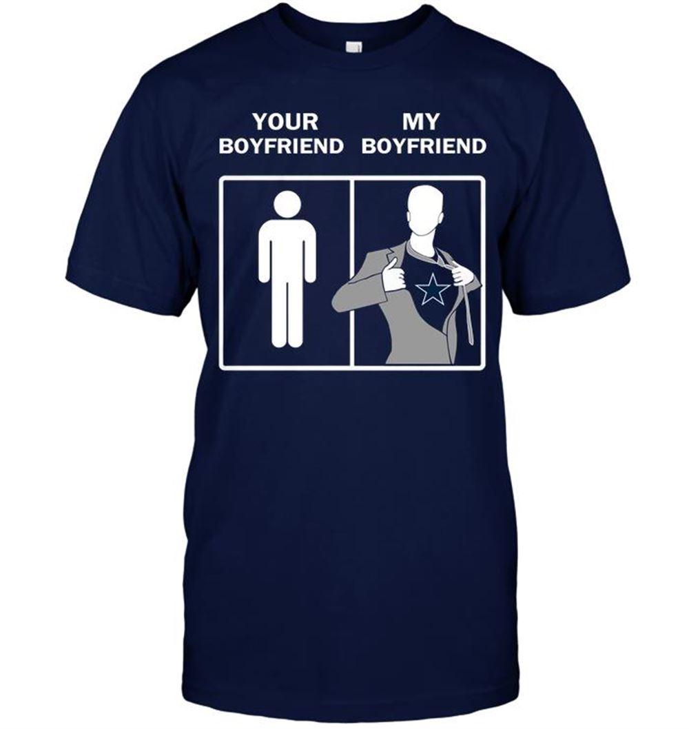 Dallas Cowboys Your Boyfriend My Boyfriend Shirt
