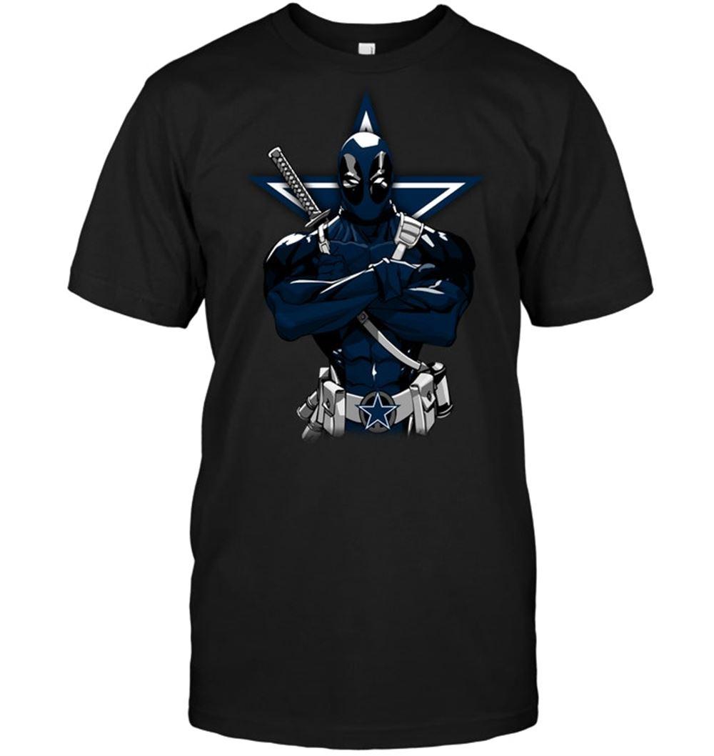Giants Deadpool Dallas Cowboys Shirt