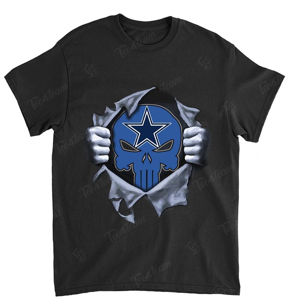 Nfl Dallas Cowboys 075 Punisher Logo Dc Marvel Jersey Superhero Avenger Shirt