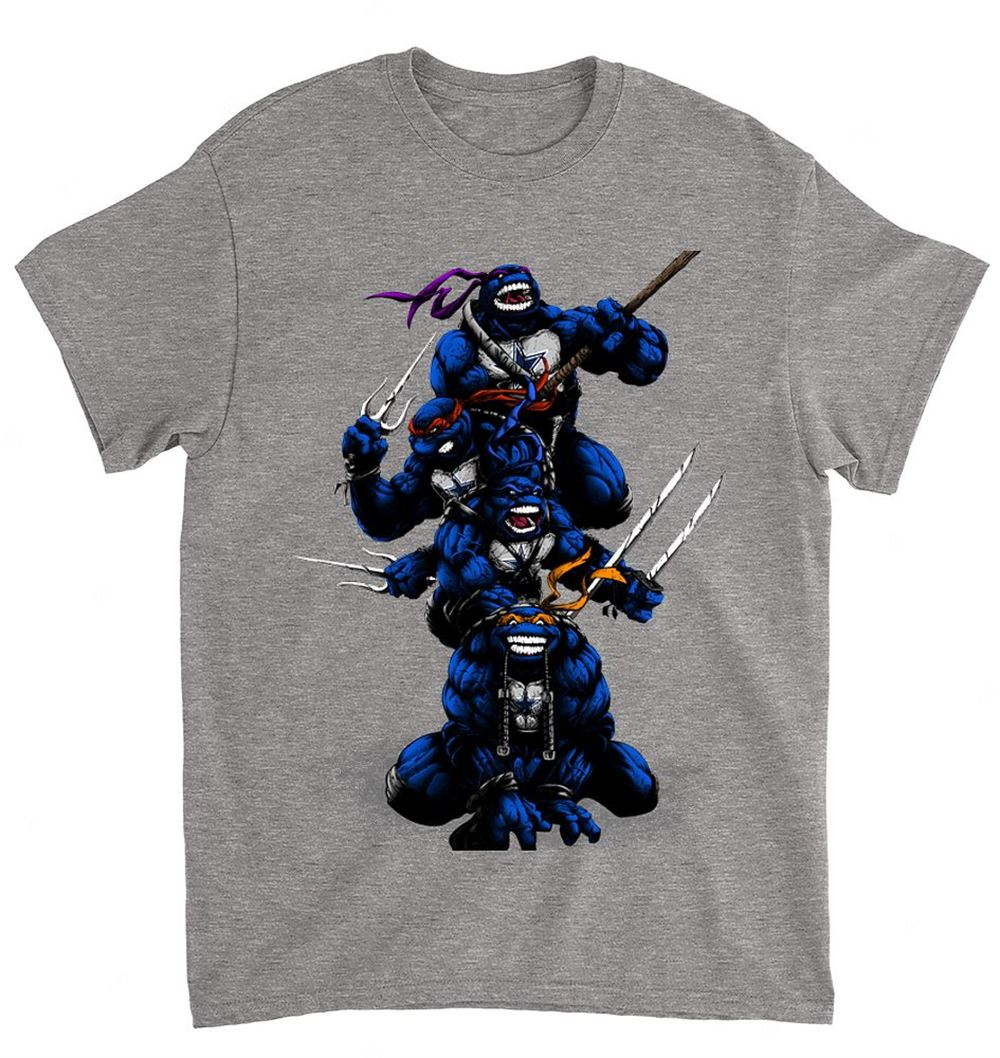 Nfl Dallas Cowboys 077 Teenage Mutant Ninja Turtles Shirt