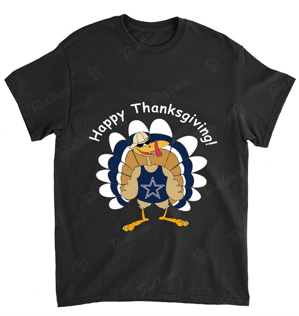 Nfl Dallas Cowboys 112 Happy Thanksgiving Shirt