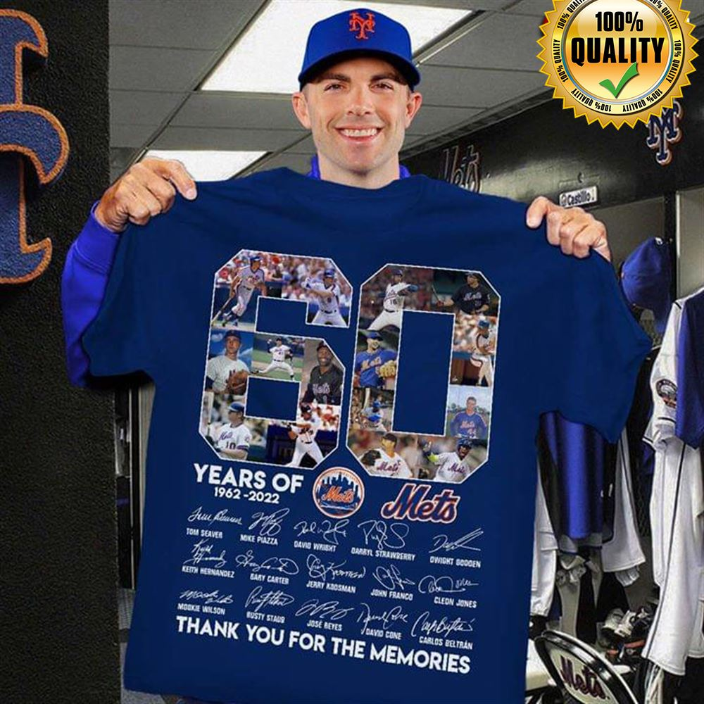 60 Years Of Mets 1962-2022 Thank You For The Memories