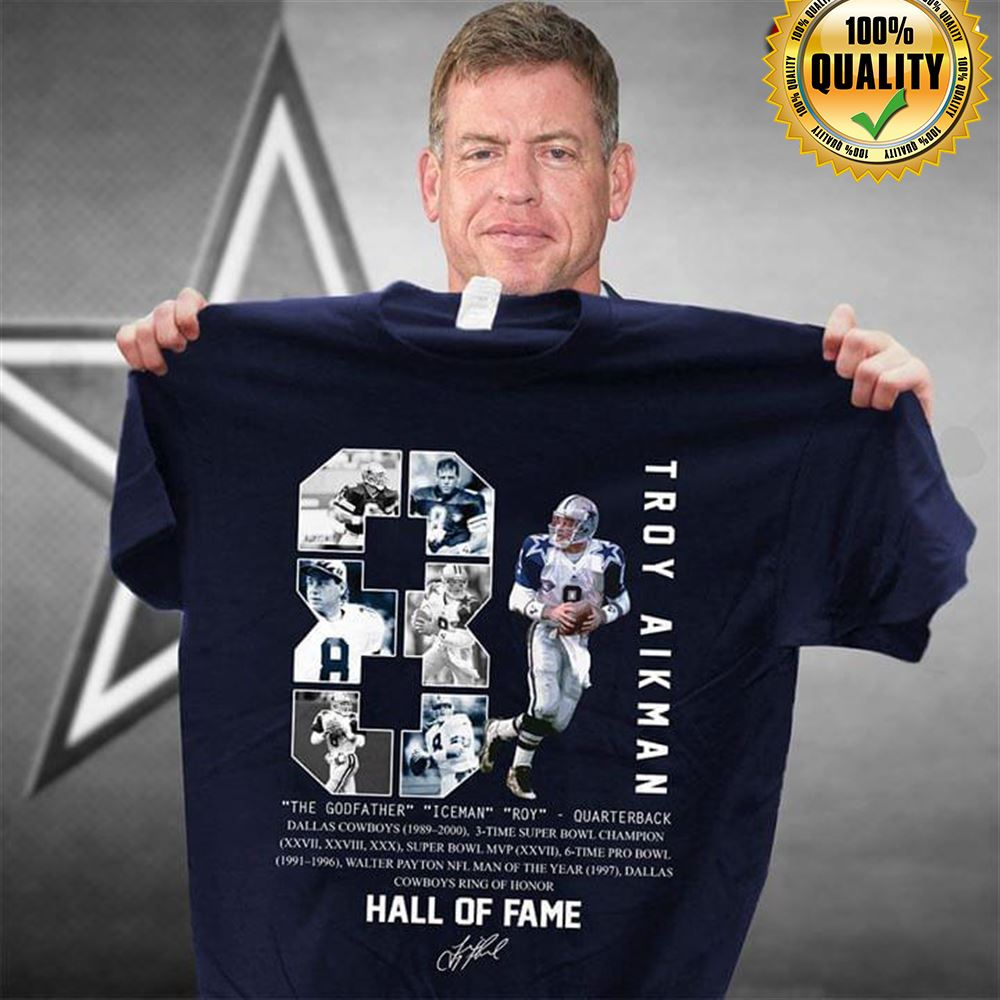 8 Troy Aikman The Godfather Iceman Roy Hall Of Fame