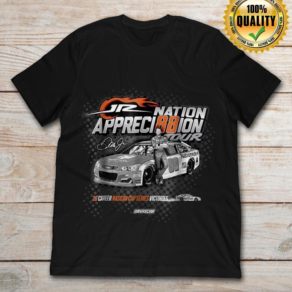88 Jr Nation Appreciation Tour Apparel Car