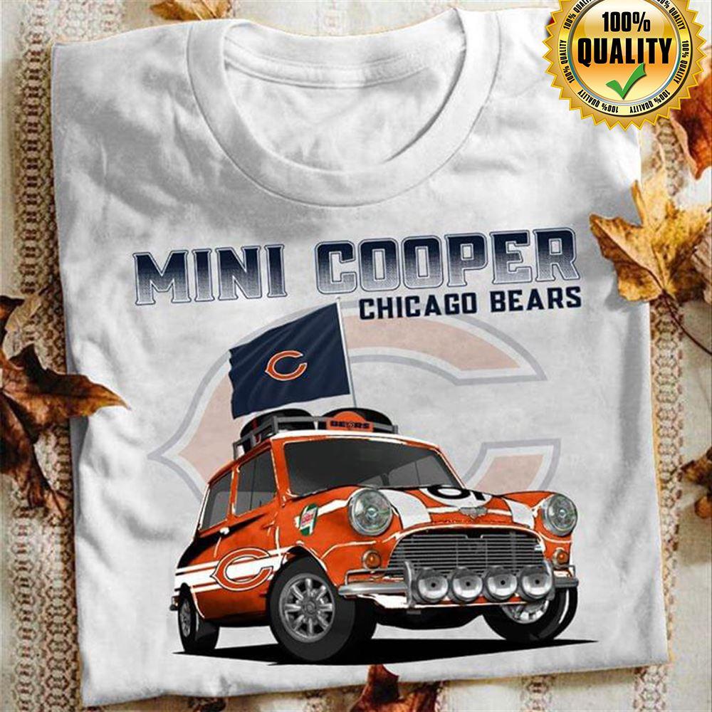 Mini Cooper Chicago Bears