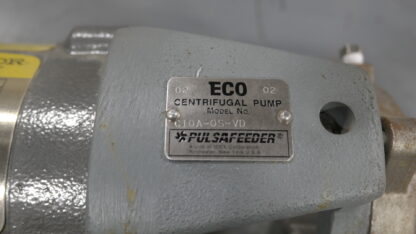 Pulsafeed C10A ECO Stainless Pump ID Tag