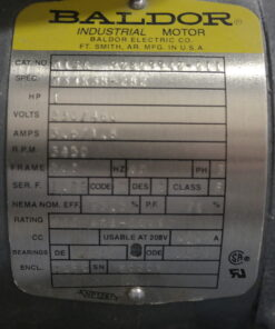 Pulsafeed C10A ECO Stainless Pump Motor Tag