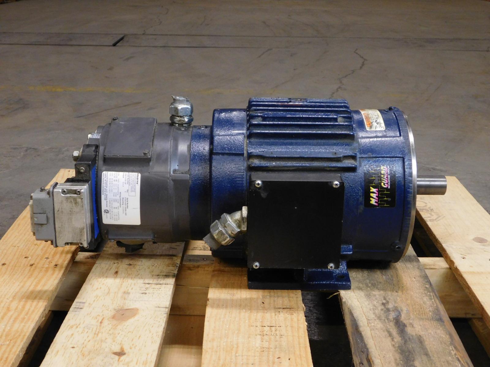 Marathon 3hp motor w brake hvc182thts8028epl gpm surplus for Marathon electric motor replacement parts