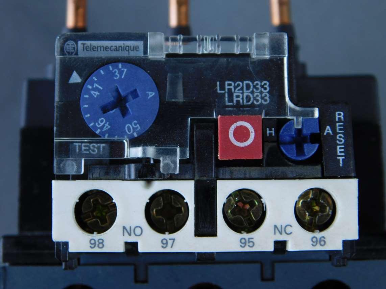 Schneider Electric Thermal Overload Relay Lrd3357 Gpm Surplus Under Current