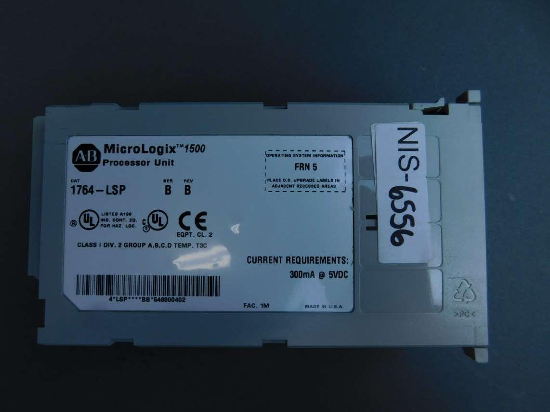 Allen-Bradley MicroLogix 1500 Control PLC Module Processor Unit Ser  B,  Rev  B 1764-LSP