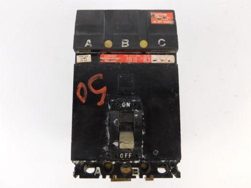 Square d 3 pole 50 amp 600v circuit breaker fh36050 for Circuit breaker for 7 5 hp motor