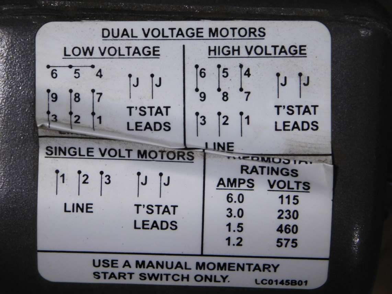 Baldor 2 HP Motor IDNM3669T